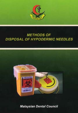 Methods Of Disposal Of Hypodermic Needles